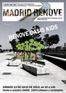 Grupo de Trabajo de Arquitectura, Infancia y Juventud del COAM Renoce Oasis Kids 3