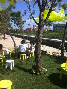 Grupo de Trabajo de Arquitectura, Infancia y Juventud del COAM Renoce Oasis Kids 5